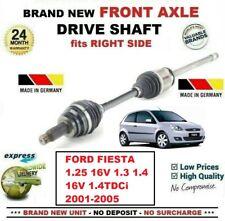 Per Ford Fiesta 1.25 16V 1.3 1.4 16V TDCI 2001-2005 Asse Ant Dx Albero Motore
