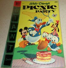 Walt Disney's Picnic Party 7, 1956,  (FN/VF 7.0) 40% off Guide!