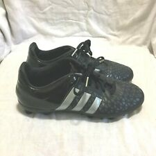 Adidas Ace 15.3 Fg Soccer Cleats Black Gray Size 5 Youth