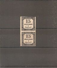 TIMBRE FRANCE FRANKREICH 1863 TAXE PAIRE N°3 OBLITERE USED