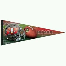 TAMPA BAY BUCCANEERS Premium Quality 12 x 30 Large Pennant Banner Flag