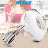 220V 5Speed Electric Hand Mixer Egg Beater Cake Baking Whisk Blender Kitchen
