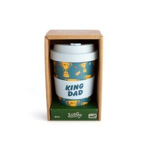King Dad Eco Friendly Bamboo Travel Cup - Novelty Mugs