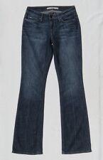 JOE'S HONEY Women's Stretch Blue Denim Boot Cut Curvy Fit Jeans size 27 4 6 Tall