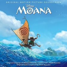 MOANA ORIGINAL MOTION PICTURE SOUNDTRACK CD DISNEY (UK Standard Edition)