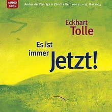 Es ist immer Jetzt. - 5 CDs von Eckhart Tolle | Buch | Zustand gut