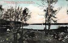 Kawartha Lakes Ontario Canada Pigeon Lake Trent Valley Antique Postcard J58305