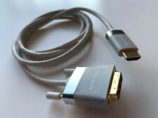 BELKIN HDMI-DVI Video Cable 6ft. 24K Gold Connector for Apple MacBook 2009
