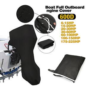 Motor-Abdeckung Außenborder Schutz-Hülle Wasserdicht 600D ganzer Boots-Motor