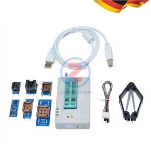 Universal TL866II Plus USB Programmer Mit 7 Adaptern Sockel ersetzen TL866CS