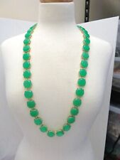 NEW TALBOTS LARGE MINT NECKLACE 32-35""