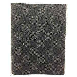 Louis Vuitton Damier Graphite Agenda Notebook Cover /91773