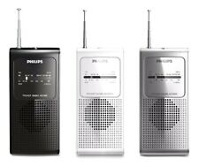 Philips Original AE1500 Portable Pocket Size Radio FM/AM Tuner Battery Operated