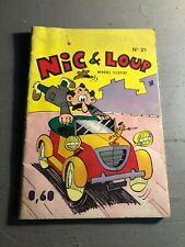 [8868 - C2] BD - comics - Nic et Loup - N°21