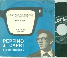PEPPINO DI CAPRI - AT CAPRI YOU'LL FIND THE FORTUNE (ITALY 7'PS ) 1963