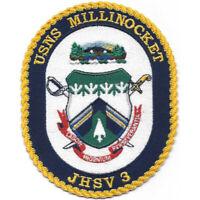 Millinockett JHSV-3 Joint High Speed Vessel Patch