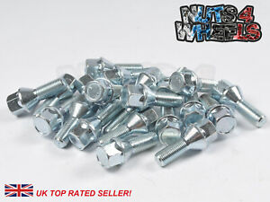 20 x 60mm extended Longer Long Spacer bolts M14x1.5 fits BMW X3