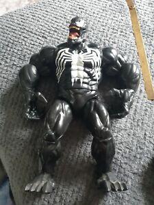 "Large Disney Store exclusive Venom Talking Action Figure 15"" Spiderman marvel"