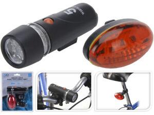 5 LED Fahrradbeleuchtung Set Lampensatz Fahrradlampe