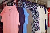 New Express Cold Shoulder Ruffle Blouses, Shirts, Cami - Xsmall Sm Med Large NWT