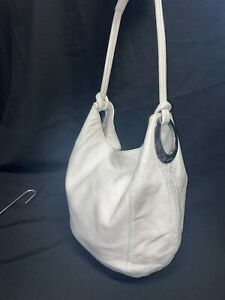 Oroton Off White/cream Hobo Shoulder Bag