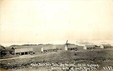 RPPC Postcard; White Rock Auto Park by the Sea, Smith River CA Hwy 101 Patterson