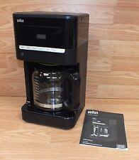 Braun (KF 7000) Black Brew Sense Automatic 12 Cup Drip Coffee Maker Bundle
