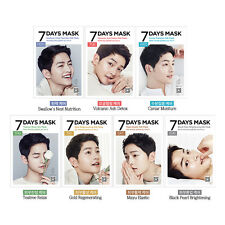 FORENCOS 7Days Mask Pack Song Joong Ki Covers 7sheet Free gifts