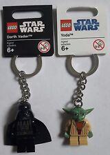 2x LEGO® Star Wars™ Keychain: 850353 Darth Vader™ & 852550 Yoda™ NEU Figur