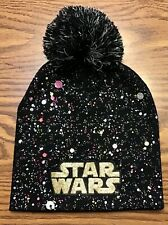 Star Wars Beanie Winter Hat Pom Paint Splatter Splash Color Bursts