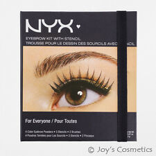 "1 NYX Eyebrow Kit  with Stencil  ""EBKS 01 - For Everyone""  *Joy's cosmetics*"