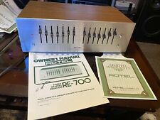 Rotel Re-700 Equalizer Near Mint Condition ! Wow Rare