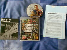 Grand Theft Auto IV - Sony PlayStation 3 PS3 Game with Liberty City Guide + Map