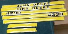 JOHN DEERE 4230 HOOD DECALS. GREAT QUALITY.