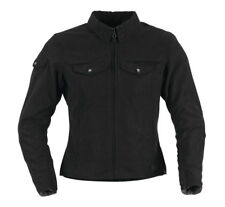 Black Brand Women's Roxxy Textile Motorcycle Jacket Size Medium