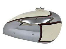 New PANTHER M100 600CC CREAM PAINTED CHROME GAS FUEL TANK 1947-1953 WITH CAP