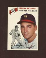 1954 Topps #119 Johnny Antonelli New York Giants NM