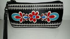 Isabella fiore  beaded  leather  wristlet