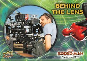 Spider-Man Far From Home Movie BEHIND THE LENS Trading Card Insert BTL-1