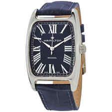 Hamilton Boulton Hand Wind Blue Dial Men's Watch H13519641