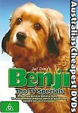 Benji The TV Specials  DVD NEW, FREE POSTAGE WITHIN AUSTRALIA REGION 4