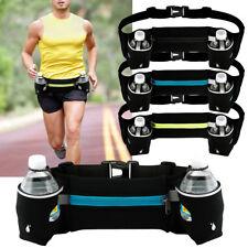 Cinturón Correr Jogging Ciclismo Deportes Bolsa del paquete de la cintura bolsa de titular de la botella de agua gimnasio