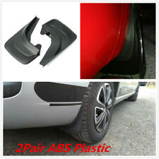 2 Pair Black ABS Plastic Car Fender Mud Flaps Mudguard Splash Guards Accessories