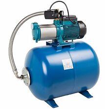 "IBO 1"" MH1300 INOX heavy duty water 2HP PUMP + pressure VESSEL 100L booster set"