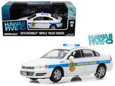 2010 CHEVROLET IMPALA HONOLULU POLICE CAR HAWAII FIVE-0 1/43 BY GREENLIGHT 86518
