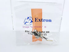 Extron 100-250-01 BNC Male MHR Crimp Connector - Sold by W5SWL