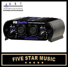 ART USB DUAL PRE PROJECT SERIES PREAMP AND AUDIO INTERFACE NEW A.R.T. PRO