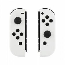 White Nintendo Switch Custom Joy-Con's Controllers Unique Design