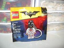 LEGO BATMAN THE MOVIE KISS KISS TUXEDO BATMAN KEY CHAIN   NEW POLYBAG