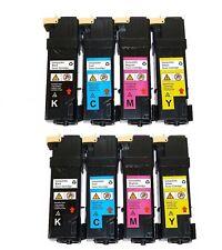 8-Pack/Pk Toner Cartridge Color Set for Dell 2150 2150CN 2150CDN 2155CN 2155CDN